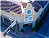 city of vero beach photograph aerial view of pocahantas building