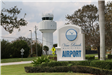 vero beach municipal airport sign