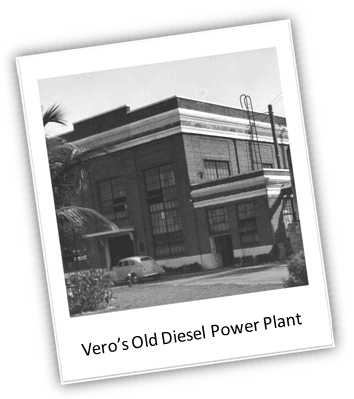 Old Diesel Power Plant in Vero Beach