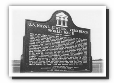 U.S. Naval Station World War II Plaque