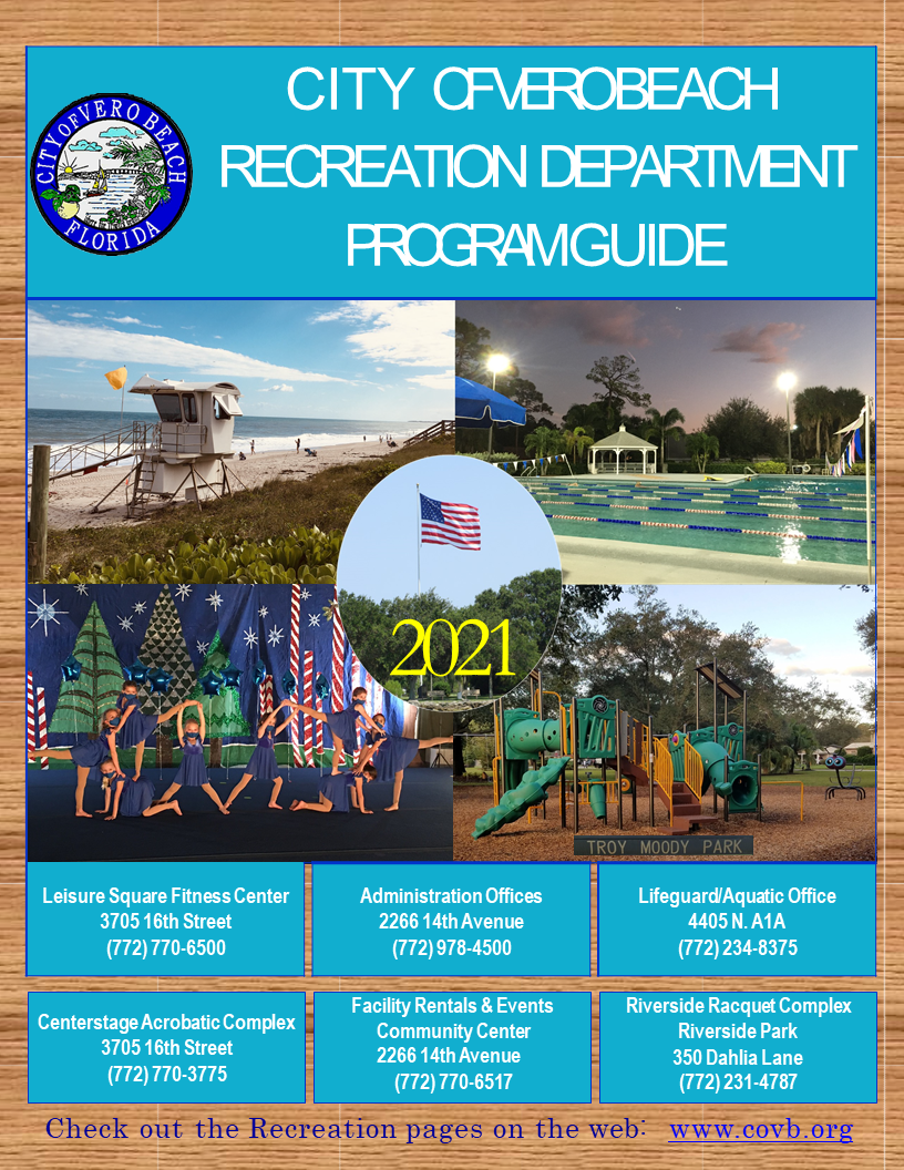 City of Vero Beach Recreation Department Program Guide Opens in new window